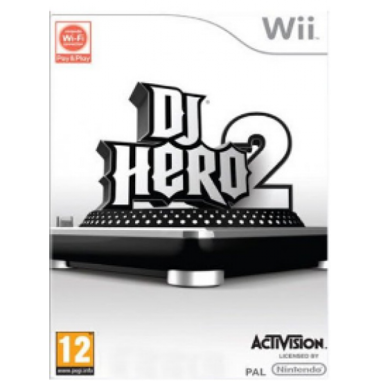 Dj Hero 2 | Wii - happypeople games