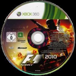 F1 2010 (Тільки Диск)   Xbox 360
