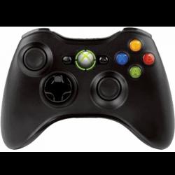 Геймпад Чорний Безпровідний Оригінал Джойстик (Стан B) | Xbox 360