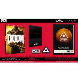 Doom UAC Pack Стілбук #325 | Ps4
