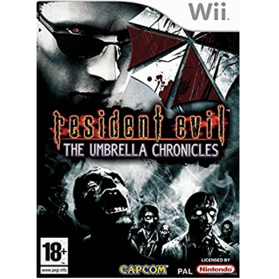 Resident Evil The Umbrella Chronicles (NTSC) | Wii - happypeople games