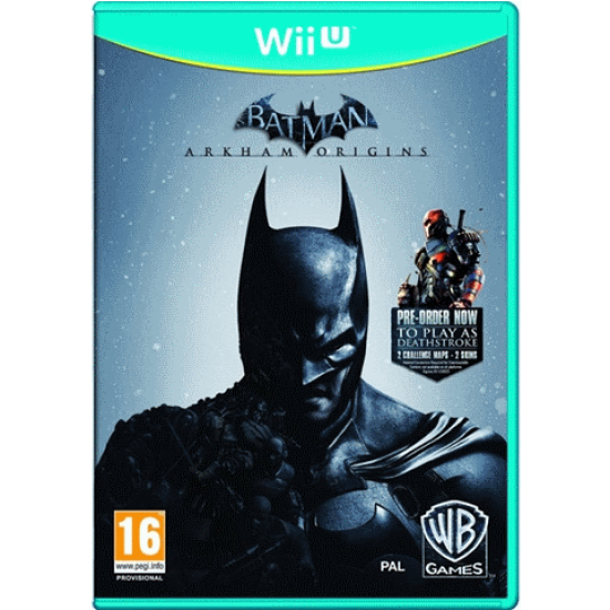 Batman: Arkham Origins | Wii U - happypeople games